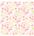 Seamless children things pattern vector