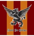 Griffin emblem vector