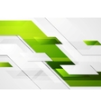 Green tech corporate motion background vector