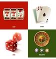 Casino design concept vector