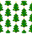 Christmas tree symbol seamless pattern vector