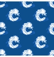 Seamless background pattern of a curling wave vector