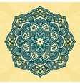 Abstract round ornamental vector