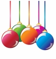 Christmas decoration christmas ball vector