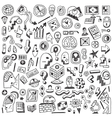Science  thinking - doodles set vector