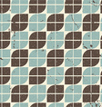 Vintage textured tiles seamless background vector