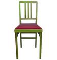 A wooden chair vector