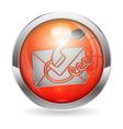 Button contact us vector