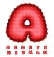 Balloon letters vector