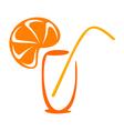 Juice icon vector