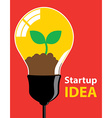 Startup idea vector