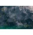 Dark abstract background polygon vector