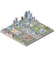City center vector