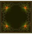 Decorative ornamental luxury frame vector
