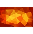 Triangle background colorful polygons vector