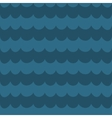 Sea blue wave background wavy seamless pattern vector