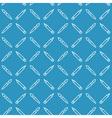 Linear art tools flat blue seamless pattern vector