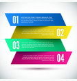 Colorful banner design template vector
