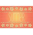 Hawaiian-style summer card vector