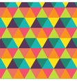 Colorful creative triangle pattern vector