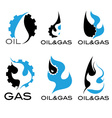 Oil and gas industry i vector