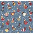 Abstract turkey bird chicken and pigeon vector