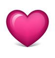 Pink heart vector