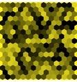 Seamless abstract hexagon background vector