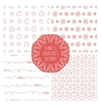Set of four seamless valentines patterns vector