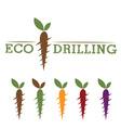 Eco drilling vector