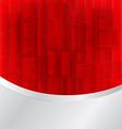 Red bokeh abstract vector