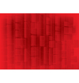 Red bokeh abstract vector