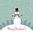 Merry xmas card vector