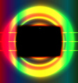 Black screen vector