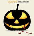Happy halloween design background with halloween vector