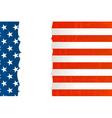 Grunge usa flag background vector