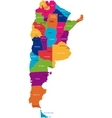 Argentina map vector
