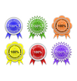 Sale labels collection vector