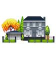 An elegant house vector