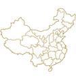 China map vector