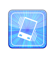 Version vibration icon eps 10 vector