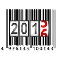 2016 new year counter barcode vector