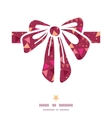 Christmas decorations flags gift bow silhouette vector
