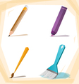 Painting brush vector