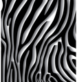 Skin texture of zebra vector