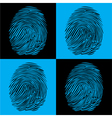 Fingerprints vector