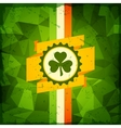 Saint patricks day abstract grunge background vector
