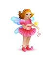 Funny fairy vector