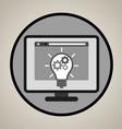 Concept development icon vector