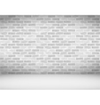 Old brick wall vector